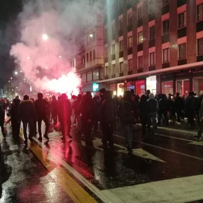 Почти 30 человек доставлены в полицию Милана после столкновений с полицией