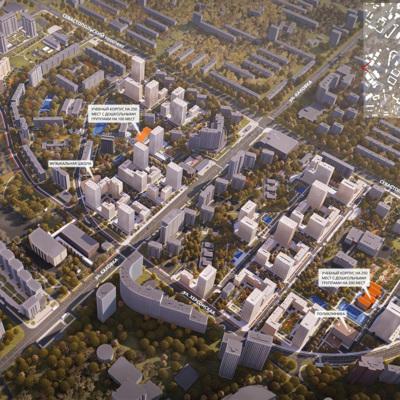 Переселение по программе реновации жителей Черёмушекпланируется начать до конца2020 года