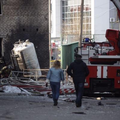 Ремонт пострадавшего от пожара здания стационара в Челябинске займет примерно три недели