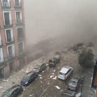Мэр Мадрида дал комментарий о прошедшем днём взрыве бытового газа