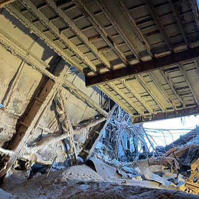 Названа причина обрушения на фабрике в Норильске