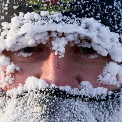 Прошедшая ночь в Москве стала самой холодной за эту зиму