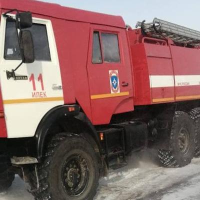 В Илекском районе Оренбургской области произошел взрыв на федеральном магистральном газопроводе