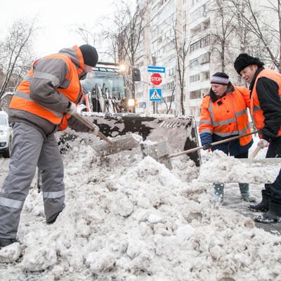 Городские коммунальные службы переведены в режим повышенной готовности