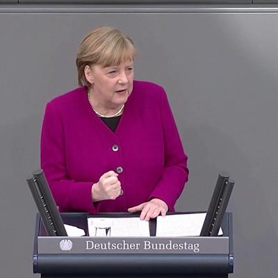 Меркель: число больных коронавирусом в Германии продолжает расти