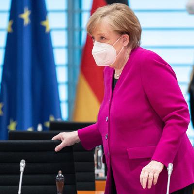 Меркель отменила запись на прививку от коронавируса