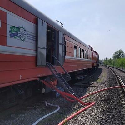 Произошли взрывы при тушении пожара в Ульяновской области