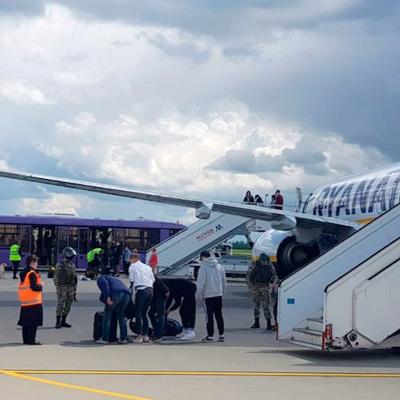 Лондон не нашел свидетельств причастности РФ к посадке самолета Ryanаir в Минске