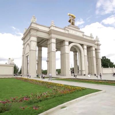 Общая площадь отреставрированных павильонов ВДНХ составляет почти 50.000 кв. м
