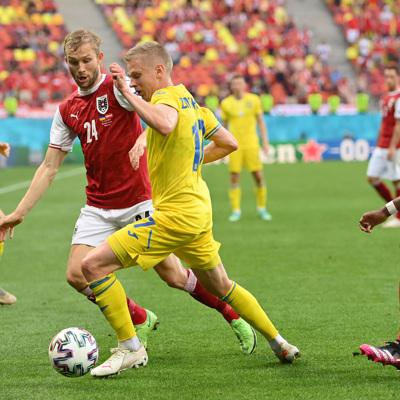 Сборная Украины вышла в 1/8 финала Евро-2020