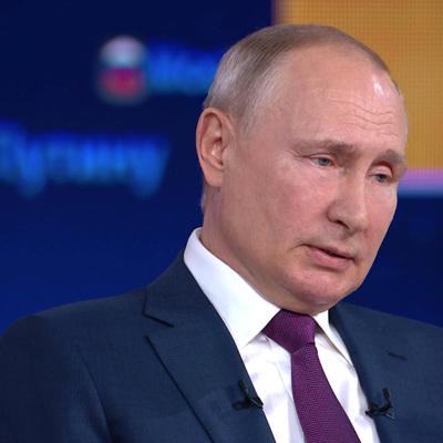 Путин выступает против обязательной вакцинации