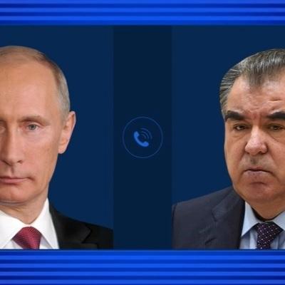 Путин обсудил по телефону с лидером Таджикистана Рахмоном развитие ситуации в Афганистане