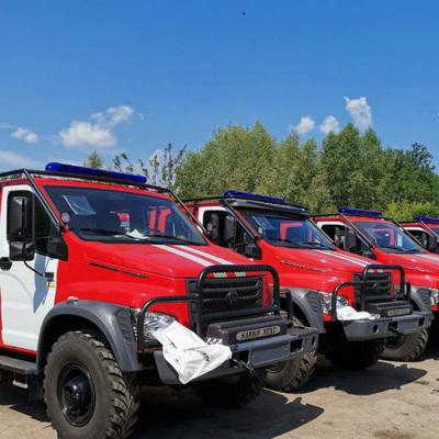 Количество природных пожаров на территории России снизилось