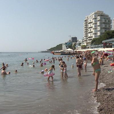 Курорты Крыма с начала года по август посетили более 5 млн туристов