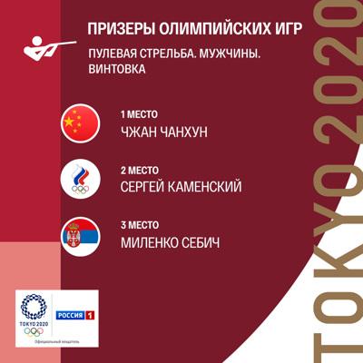 Олимпиада-2020: стрелок Сергей Каменский принес сборной России серебро