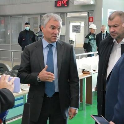 Володин в Москве проголосовал на выборах в Госдуму