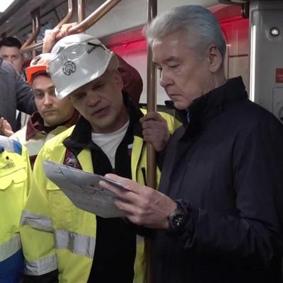 Сергей Собянин: 10 станций БКЛ планируют открыть в ближайшее время