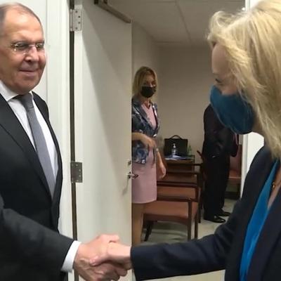 Сергей Лавров впервые встретился с новой главой МИД Великобритании Элизабет Трасс