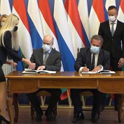 В Еврокомиссии прокомментировали газовый контракт России и Венгрии