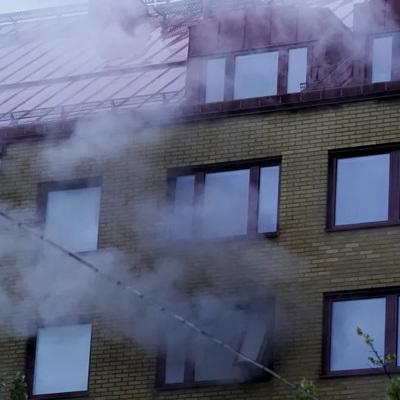 Взрыв в жилом доме в центре Гётеборга