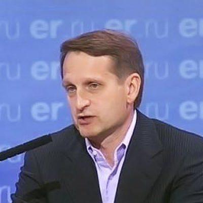 Нарышкин заявил, что развитие ситуации вокруг Ирана идет по опасному сценарию