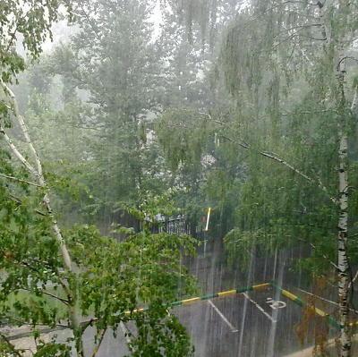 Кратковременный дождь ожидается в воскресенье