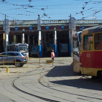 Тестовый пуск нового трамвая состоялся у столичного Белорусского вокзала