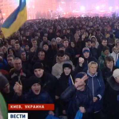 Шесть человек пострадали за время митингов у здания Верховной рады Украины