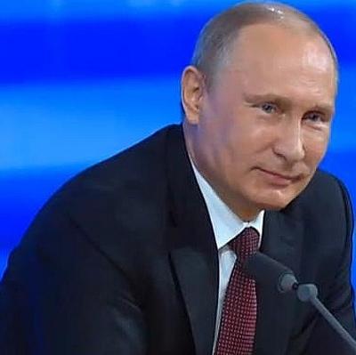 За месяц рейтинг Владимира Путина вырос на 3%