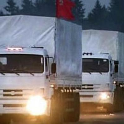 В Донбасс направлена 65по счету автоколонна с гуманитарной помощью от российского народа