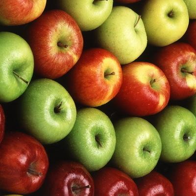 Два крупных яблока в день можно съедать без вреда для здоровья