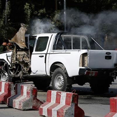 Автомобиль дипмиссии РФподорвался в Кабуле