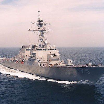 Американский эсминец