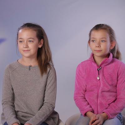 Дарья Насырова и Виктория Чалкова