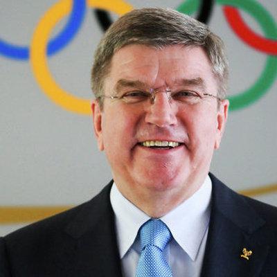 Глава МОК встретился с российскими спортсменами в южнокорейском Пхенчхане