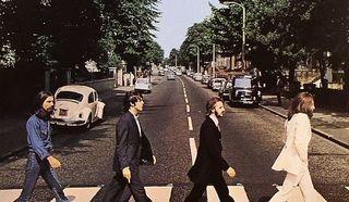"Обложка альбома ""Abbey road"""