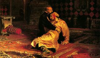 """Картина Репина """"Иван Грозный и сын его Иван"""""""