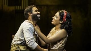 Сцена из оперы Джорджа Гершвина «Порги и Бесс»