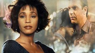"""Музыкальный фильм """"Телохранитель"""" (""""The Bodyguard"""") с Уитни Хьюстон (Whitney Houston) и Кевином Костнером (Kevin Costner) в главных ролях."""
