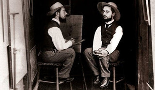 Анри де Тулуз-Лотрек, французский художник-постимпрессионист. Автор - Морис Гибер