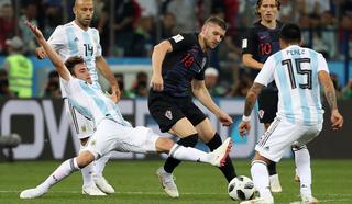 Аргентинцы и хорваты не смогли открыть счет в первом тайме