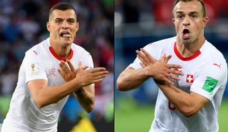 """Провокация на поле: швейцарцев могут дисквалифицировать за """"Албанского орла"""""""
