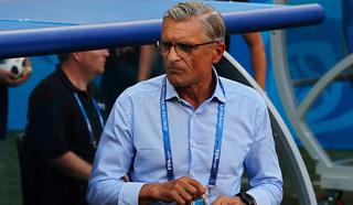 Главный тренер сборной Польши Навалка ушел со своего поста