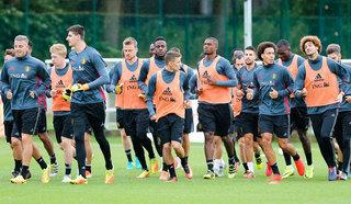 Сборная Бельгии готовится к полуфиналу с Францией в полном составе