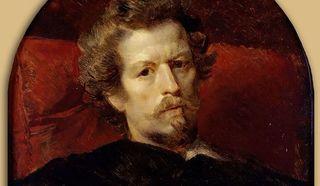 Карл Брюллов. Автопортрет (1848). Москва, Государственная Третьяковская галерея