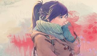 Рисунок. Девушка-подросток