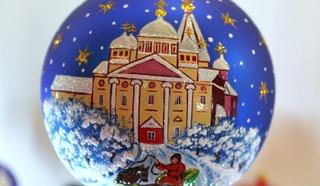 Праздничный привет от Маши Шуршаковой. Фото Леонида Варебруса
