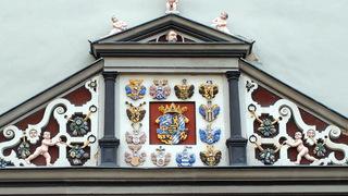 Ренессансный портал. Красный замок в Веймаре  /travelwriticus.com/