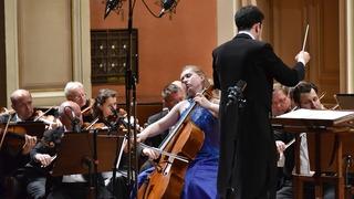 Мария Слащёва,  виолончель (Россия). Фото Zdenek Chrapel.