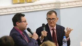 Михаэль Керстан  с переводчиком